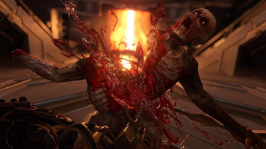 Doom Eternal Test: Brutalität