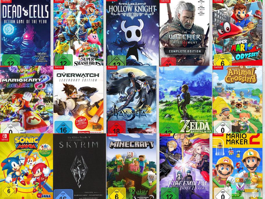 Beste Nintendo Switch Spiele