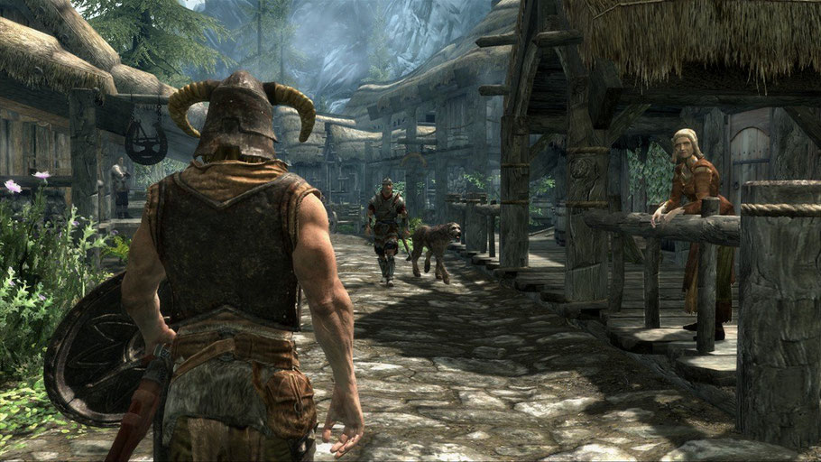 Beste Xbox 360 Spiele - The Elder Scrolls V: Skyrim