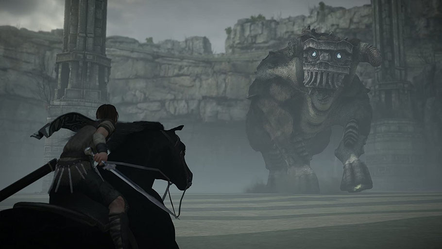 Beste PS4-Spiele - Shadow of the Colossus