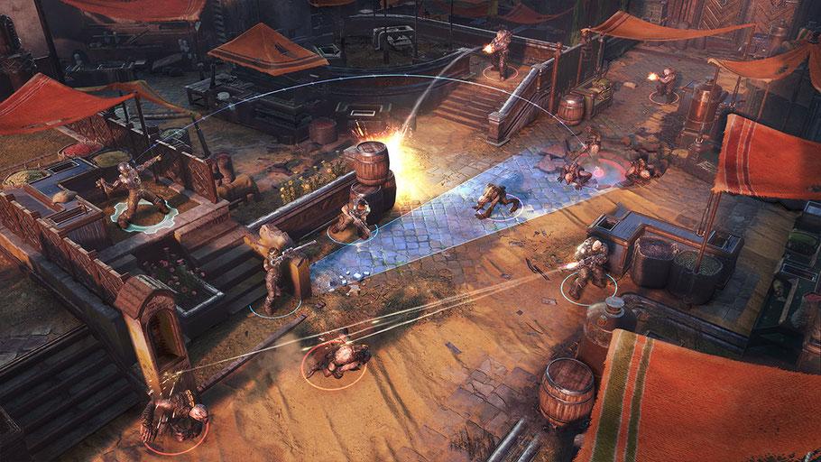 Gears Tactics Test: Das Gameplay