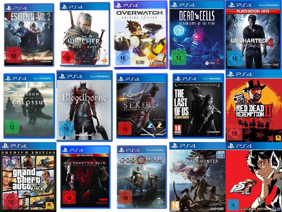 Beste PS4-Spiele