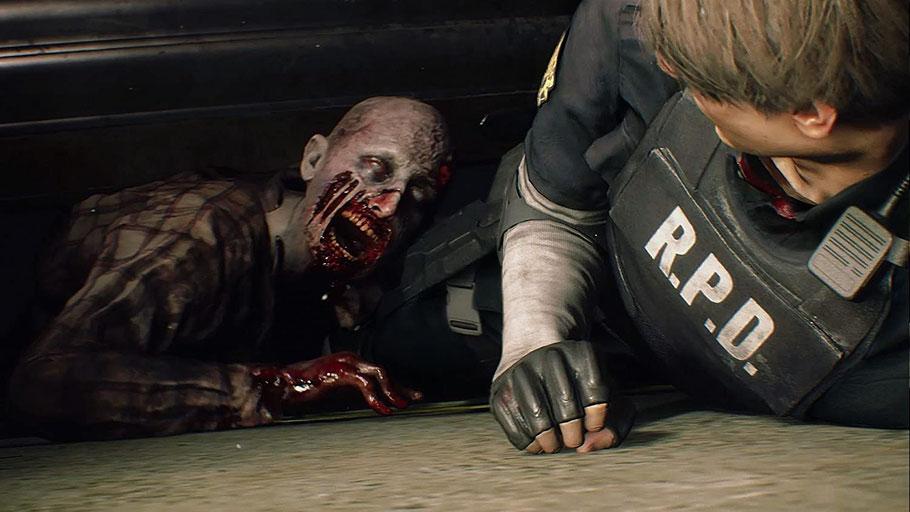 Beste PS4-Spiele - Resident Evil 2