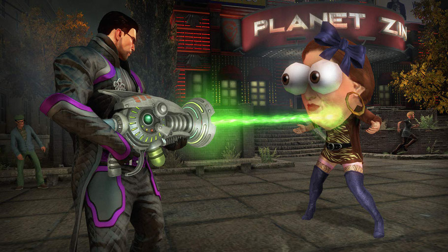 Saints Row 4 Re-Elected Test: Die Story