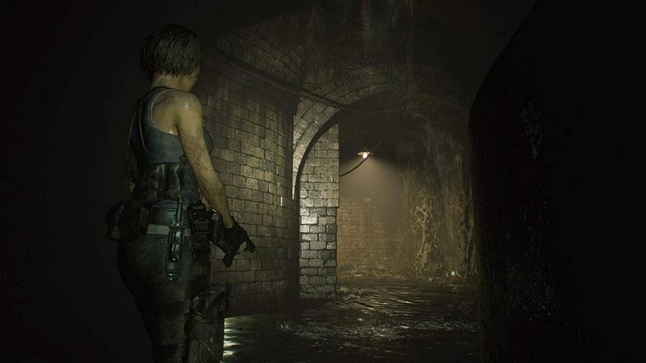 Resident Evil 3 Test: Jill in der Kanalisation