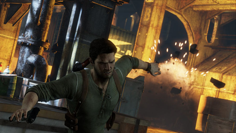 Beste PS3 Spiele - Uncharted 3: Drake's Deception