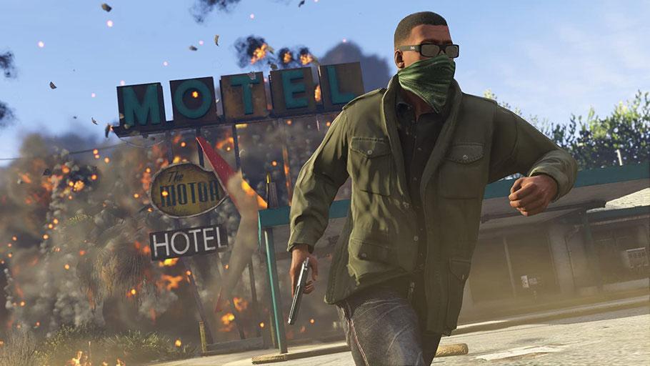 Beste PS4-Spiele - Grand Theft Auto 5