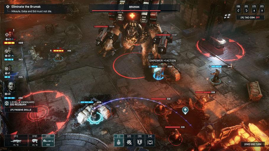 Gears Tactics Test: Die Grafik