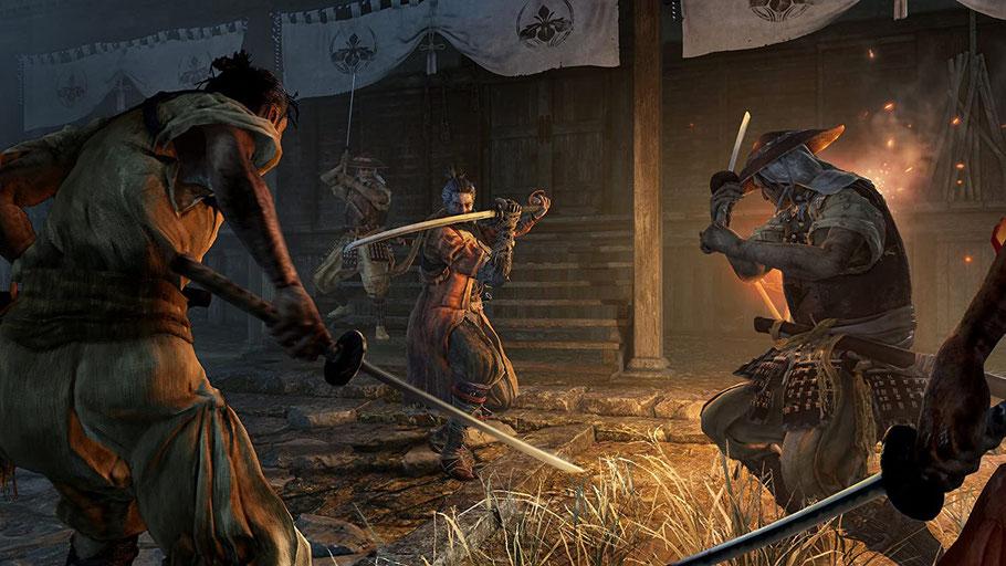 Beste PS4-Spiele - Sekiro: Shadows Die Twice