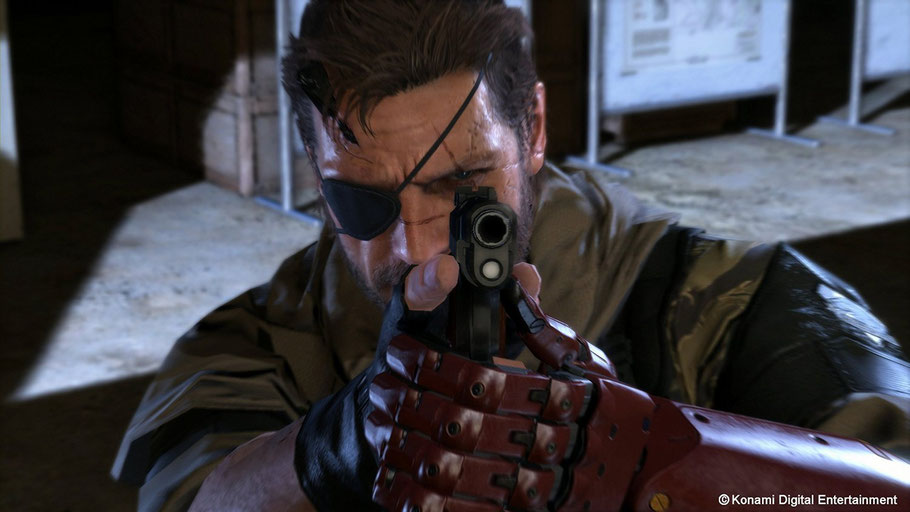 Beste PS4-Spiele - Metal Gear Solid 5: The Phantom Pain