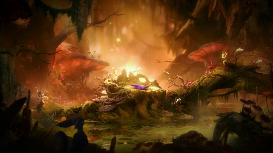 Ori and the Will of the Wisps Test: DIe Grafik