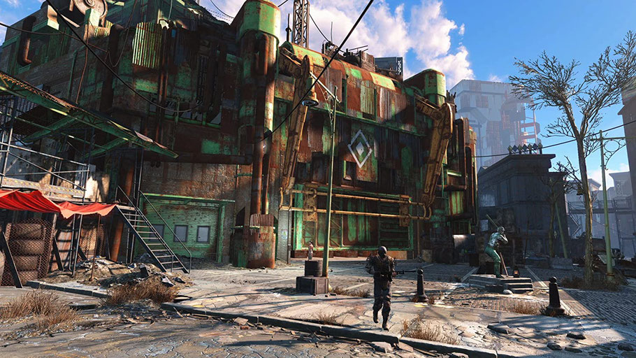 Fallout 4 Test: Die Story