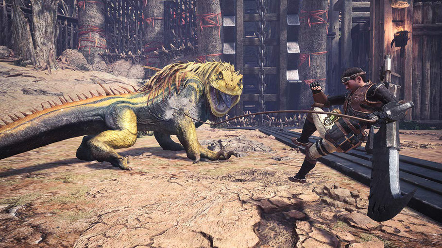 Beste PS4-Spiele - Monster Hunter World