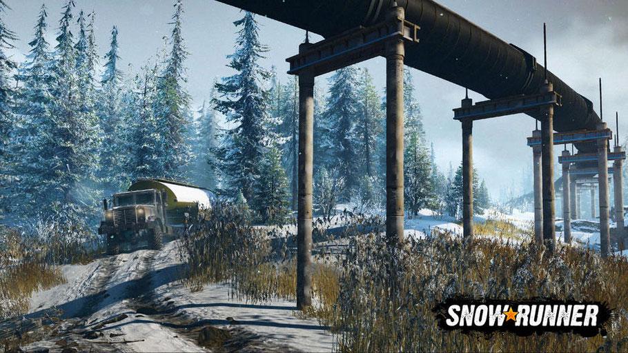 SnowRunner Test: Der Inhalt