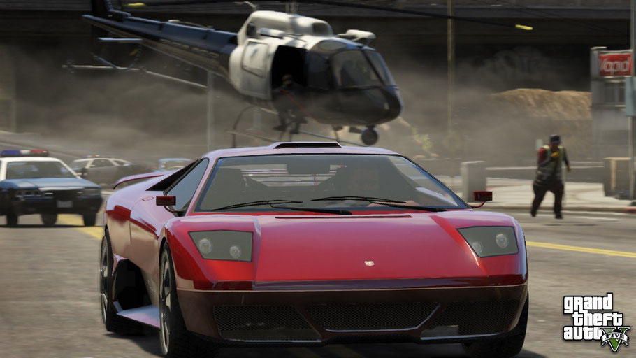 Beste Xbox 360 Spiele - Grand Theft Auto V