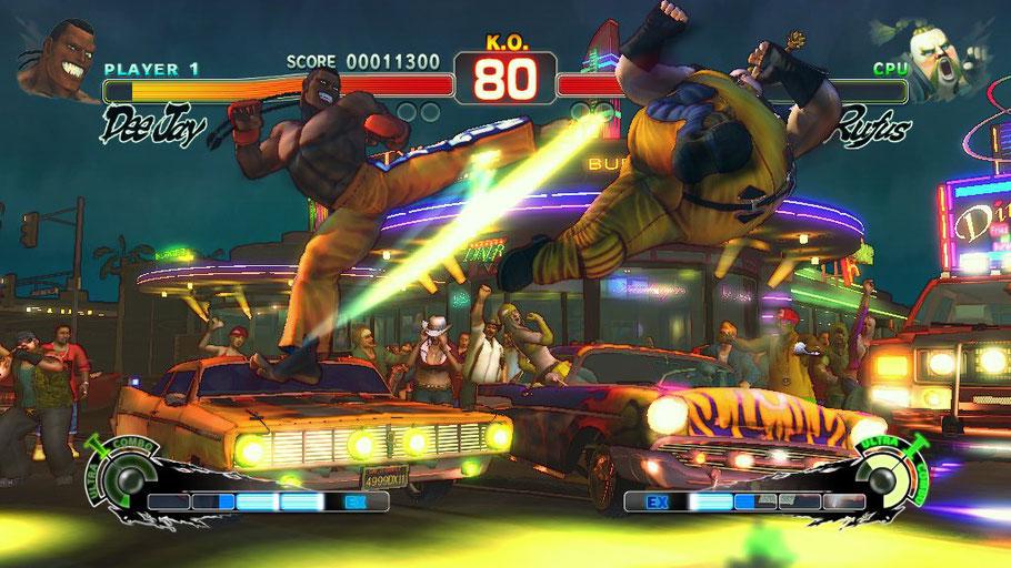 Beste PS3 Spiele - Super Street Fighter IV