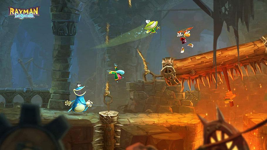 Beste PS3 Spiele - Rayman Legends