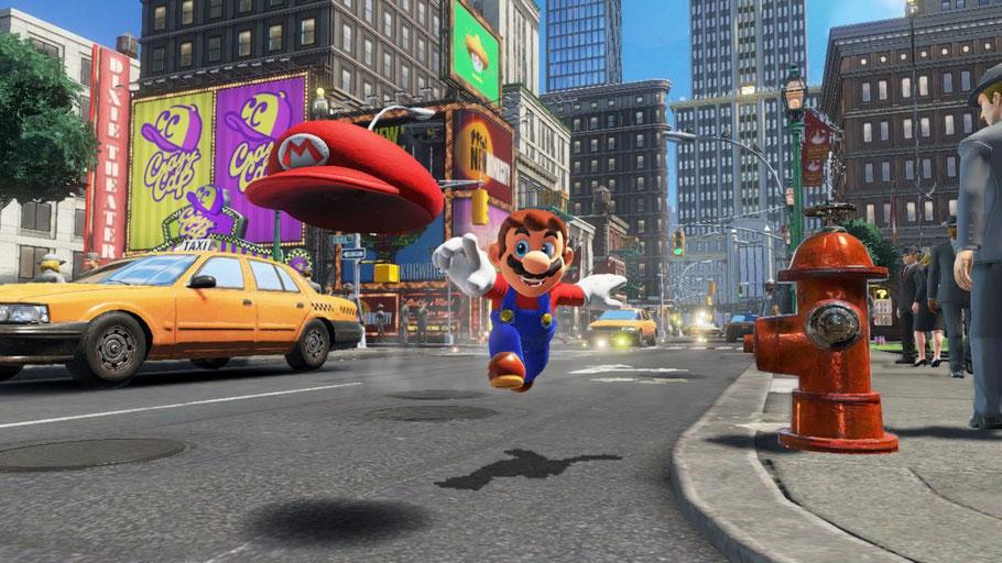 Beste Nintendo Switch Spiele: Super Mario Odyssey