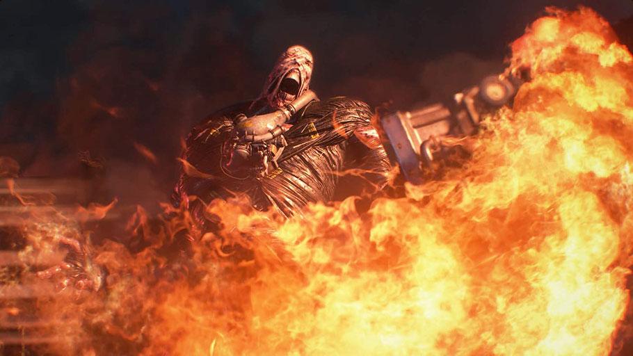 Resident Evil 3 Test: Nemesis