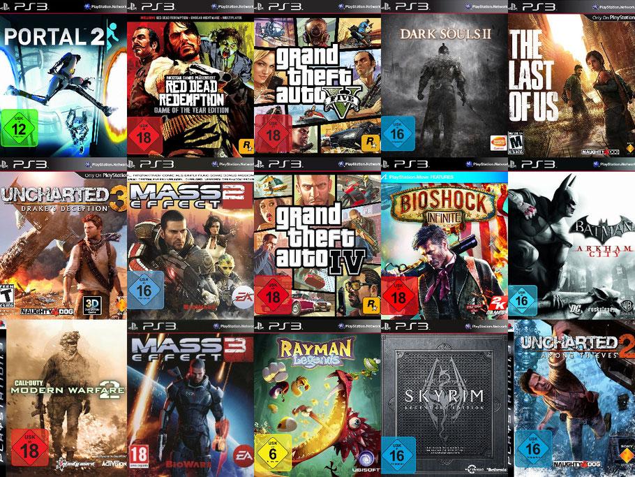 Beste PS3 Spiele - Charts mit Top 200