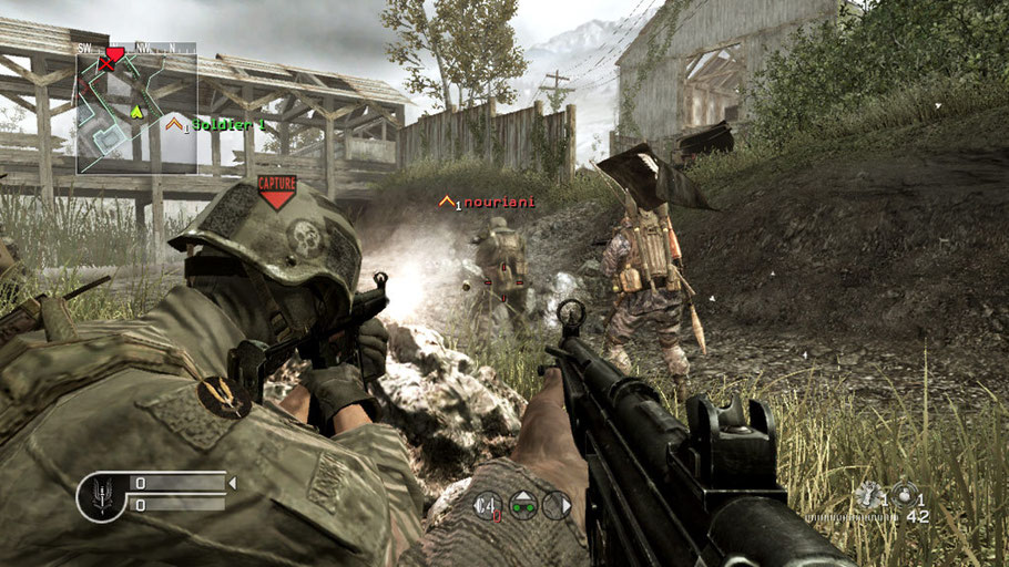 Beste PS3 Spiele - Call of Duty 4: Modern Warfare