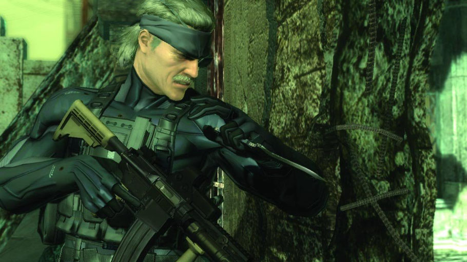 Beste PS3 Spiele - Metal Gear Solid 4: Guns of the Patriots
