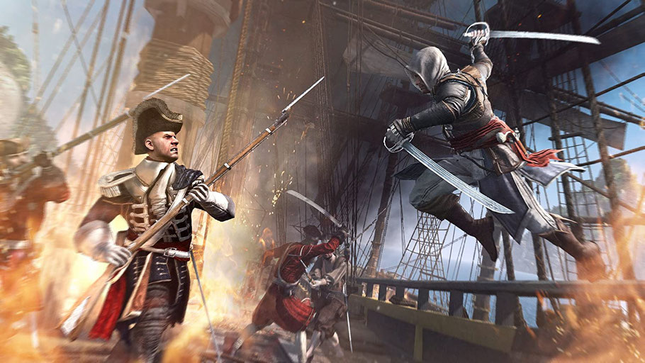 Beste PS3 Spiele - Assassin's Creed IV: Black Flag