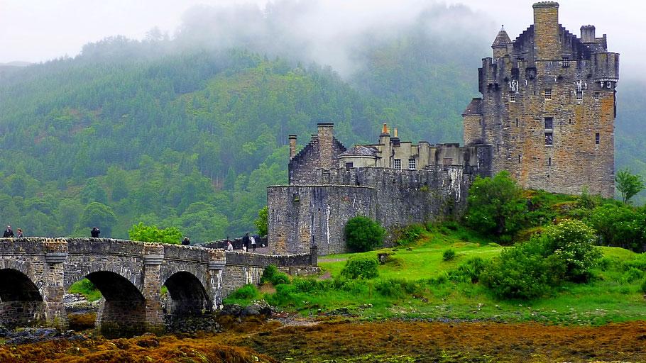 Eilean Donan Castle, West Highlands, Schottland