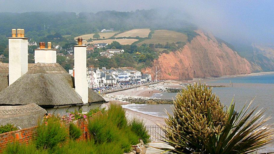 Sidmouth, Devon, Südengland