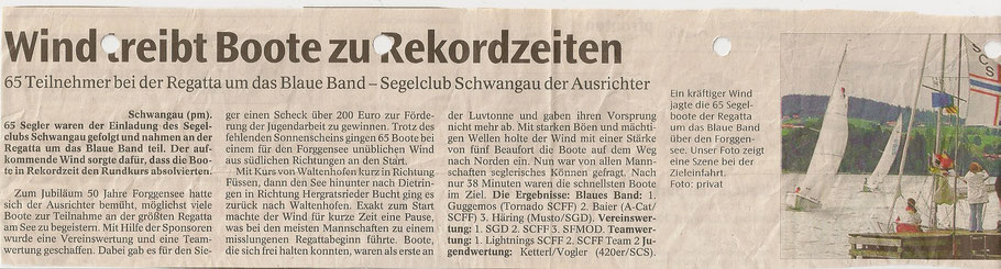 Allgäuer Zeitung von 2004