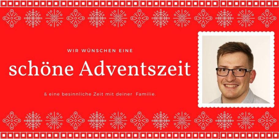 Robert Drews und der Vorstand der Salzwedler SPD wünschen eine schöne Adventszeit