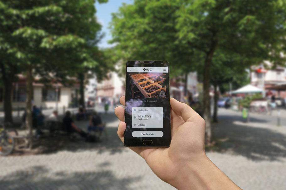 Rallye mit dem Smartphone durch Frankfurt