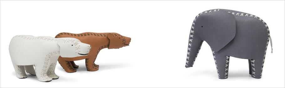 formverleih® Schnürtiere aus Leder Design von Daniel Böttcher