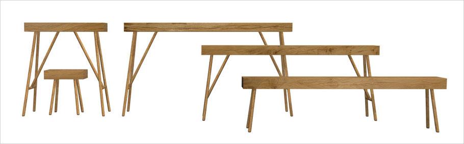 formverleih® Massivholzmöbel Design von Daniel Böttcher