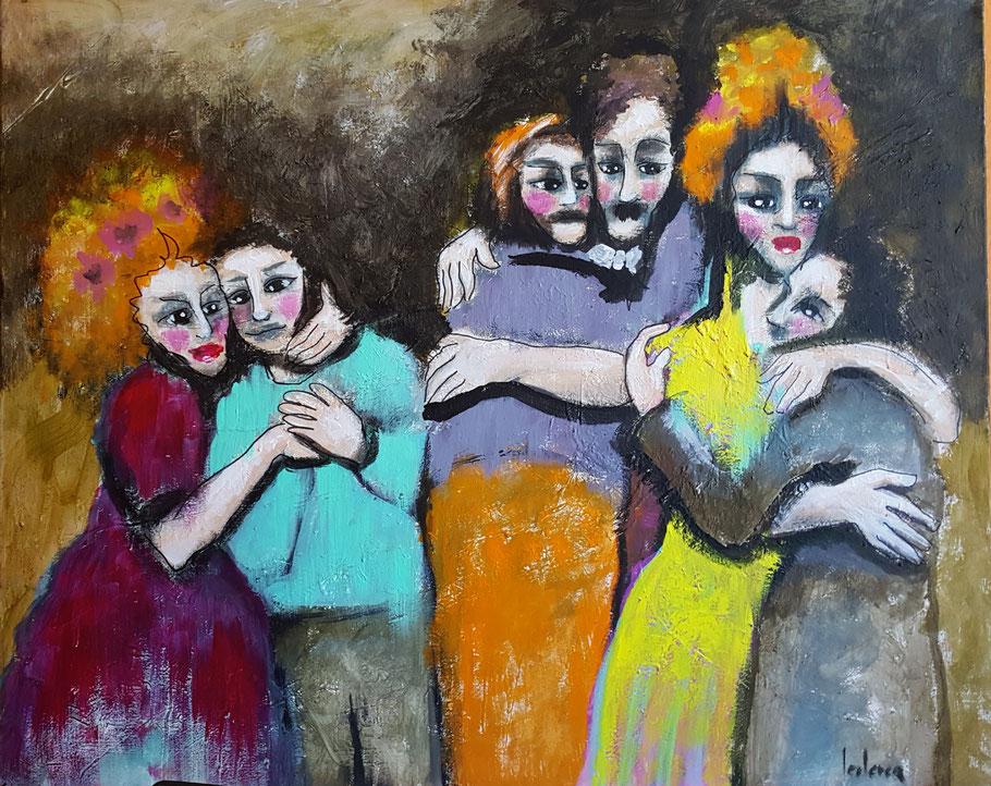 bernadette leclercq expressionnisme tableau art expressionniste