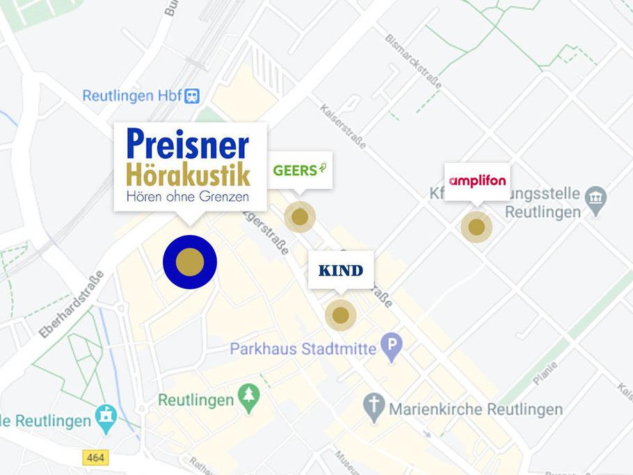 Preisner Hörakustik, GEERS Hörakustik, amlifon Hörakustik, KIND Hörakustik. Hörgeräte 2021