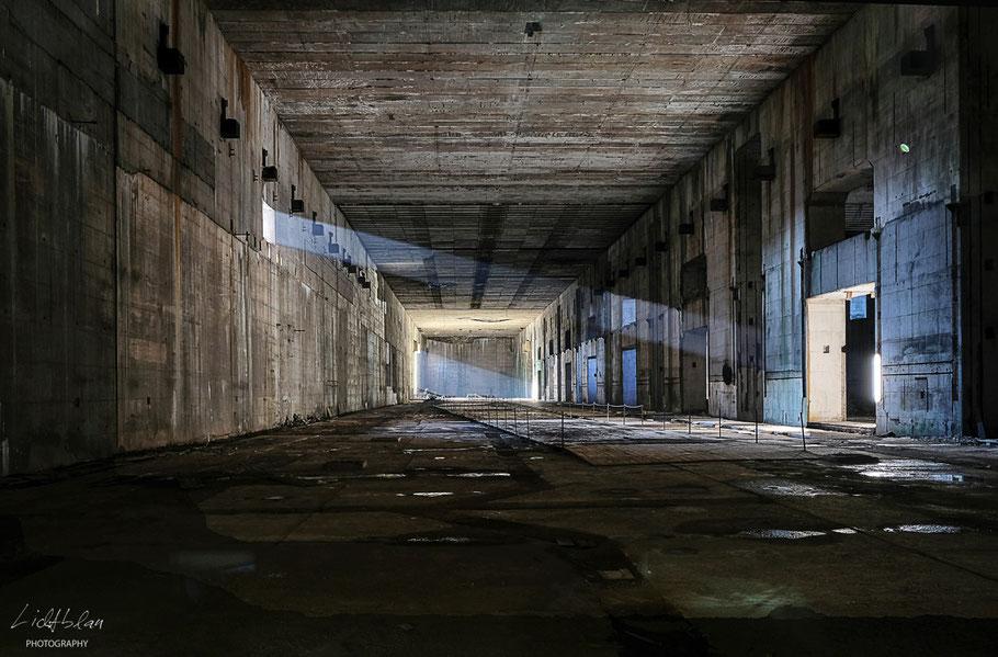 Produktionshalle - Taktstraße 1