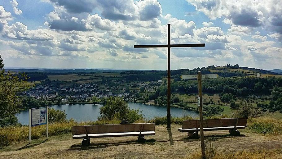 Gipfelkreuz Schalkenmehren
