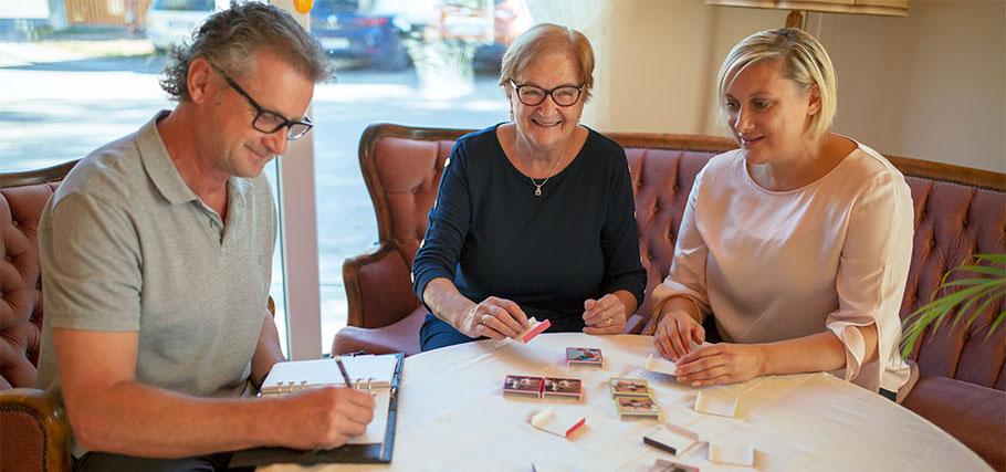 Leistungen der Betreuungsstuben – glückliche Gäste