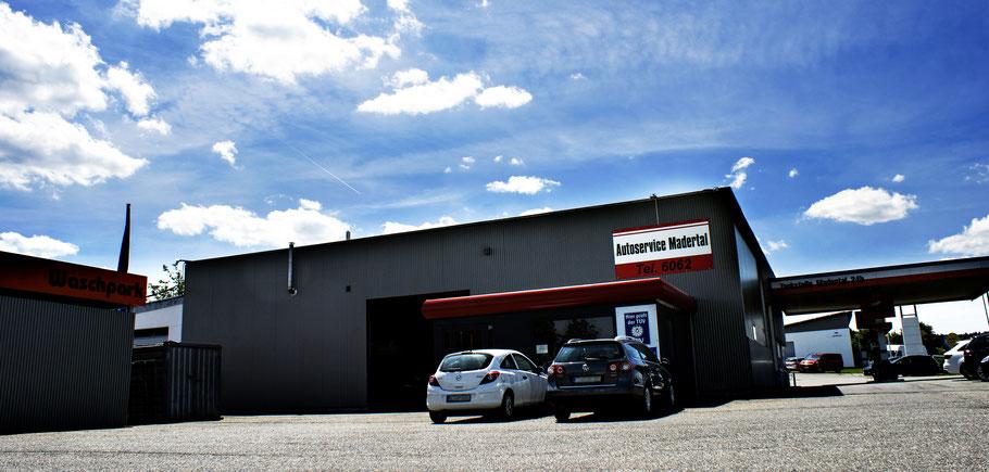 Werkstattgebäude Autoservice Madertal