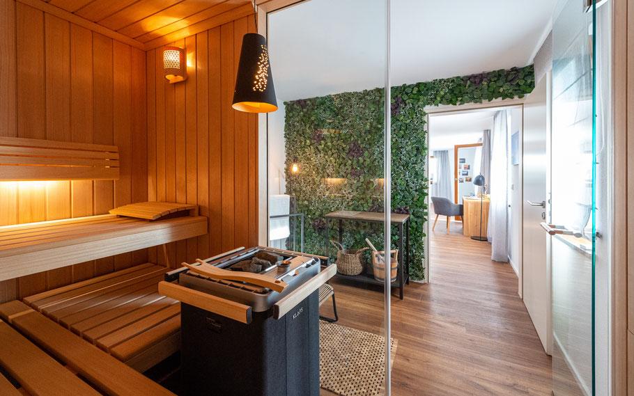 Ferienwohnung, Ferien-Lodge, Lindau, Bodensee, Sauna, Luxus