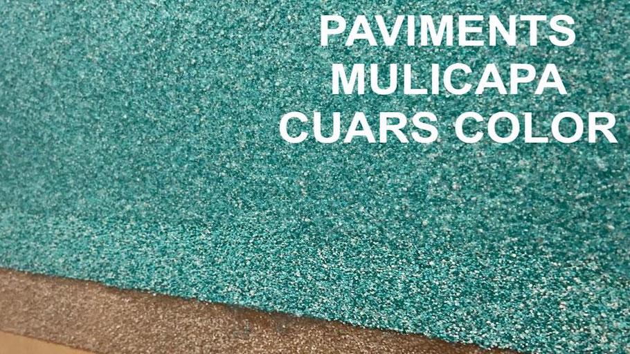paviment de cuars color