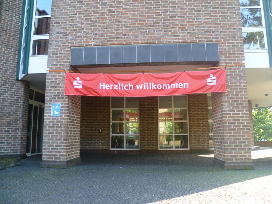 Begrüßung im Steinfurter Rathaus zum Sparkassen-Cup