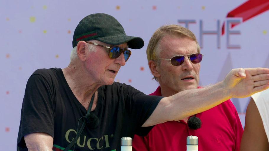 Toxische Gentlemen: Prinz Frédéric (l.) und Walther Hoffmann (Bild: RTLZWEI)