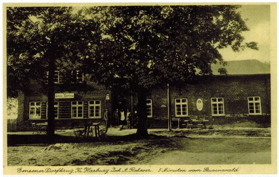 """Haus Nr. 12 Höör / Emsener Gasthaus """"Emsener Dorfkrug"""" (Rader Weg)"""