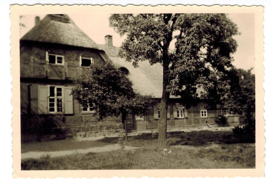 Emsen Forsthaus Giebelansicht (jetzieges Landschulheim)