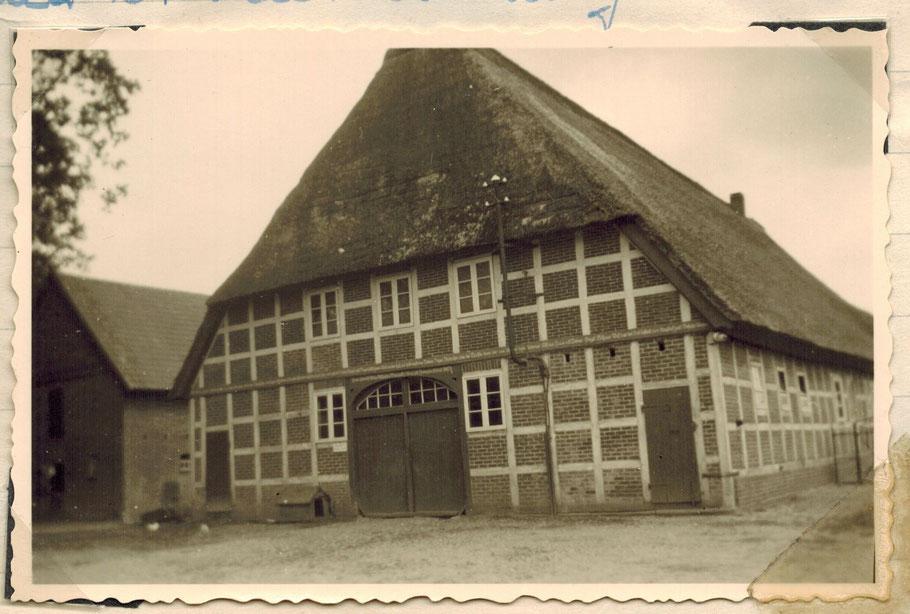 Hof Aldag 1955 (erbaut 1863)