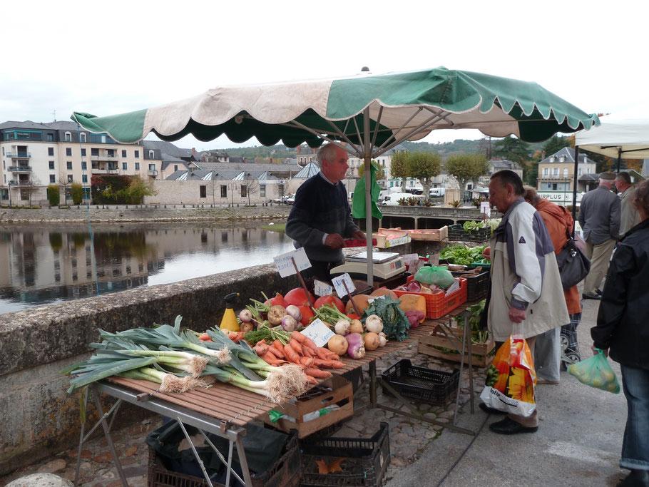 le marché le jeudi matin