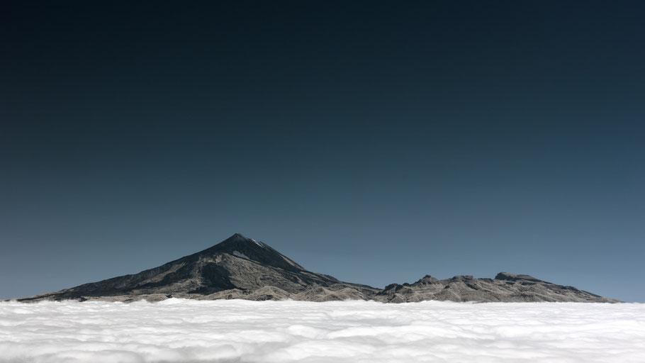 Teide, Teneriffa, Tenerife, Infrarot, Holger Nimtz, Infrared, Fotografie, Luftbild, Luftbildaufnahme, Photography, Infrarotaufnahme, IR,