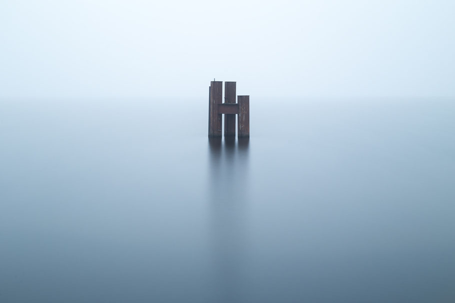 Müggelsee, Nebel, misty, photography, Minimalismus, Fotografie, minimalism, minimalist, minimalistisch, Holger Nimtz, Wandbild, Kunst, fine art, Fotokunst,